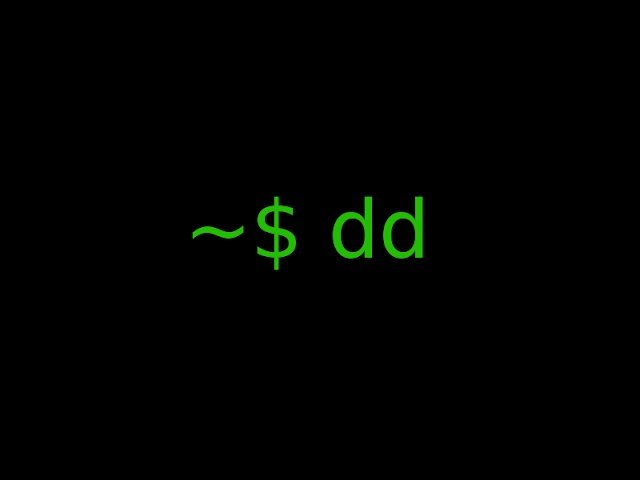 dd unix